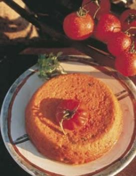 flan de tomates au fromage de ch vre. Black Bedroom Furniture Sets. Home Design Ideas