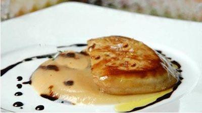 Escalope de foie gras au vinaigre balsamique de mod ne - Foie de veau vinaigre balsamique ...